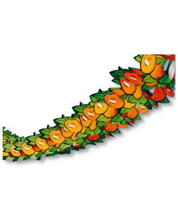 Papier Girlande Motiv Orange