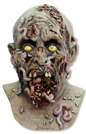 Parasiten Zombie Maske