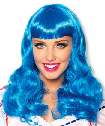 Party Girl Wig Blue