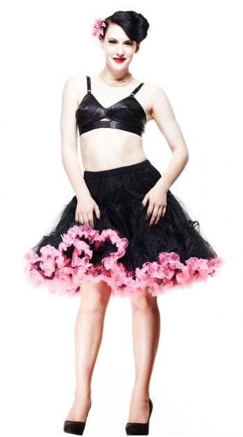 Petticoat black-pink
