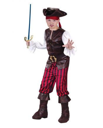 Piraten Deluxe Kinderkostüm Gr. L