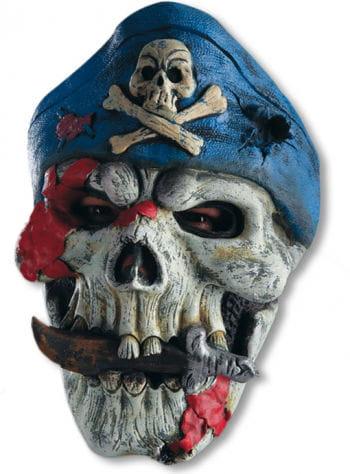 Piraten Maske mit Totenkopf