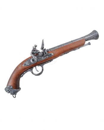 Pirate Flintlock Pistol Real Wood