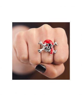 Pirate skull ring
