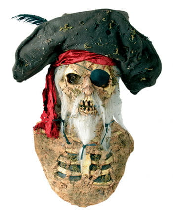 Pirate mask with hat