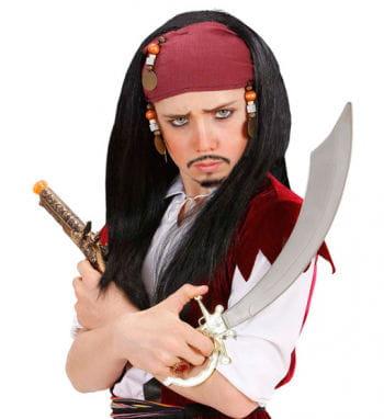 Pirate Wig with Bandana