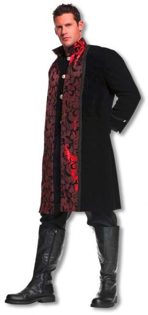 Gothic Vampir Man Costume Extra Extra Large