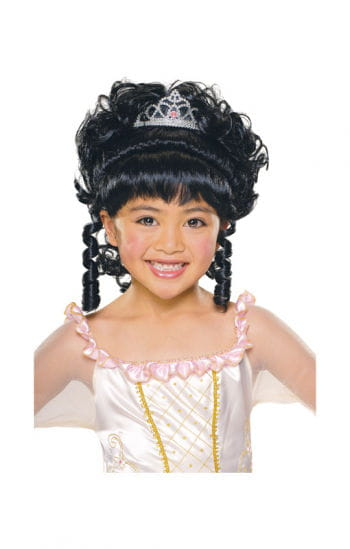 Princess Child Wig Black