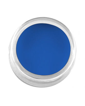 Professionelles Creme Make-Up Blau