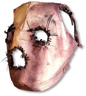 Psychopathen Maske aus Leinen