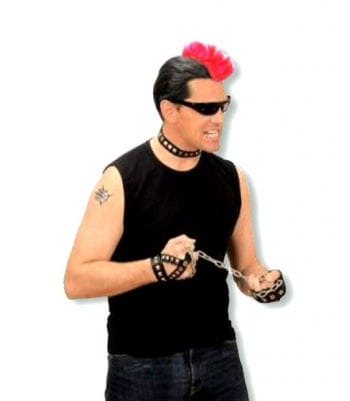 Punk Hairpiece Red