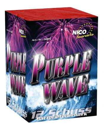 Purple Wave Batteriefeuerwerk 12 Schuss