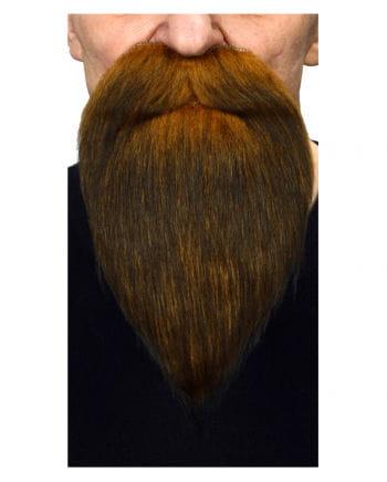 Raiders beard brown black heather