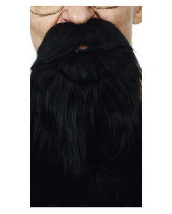 Räuber Bart schwarz