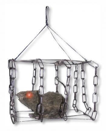 Ratte im Käfig Animatronic