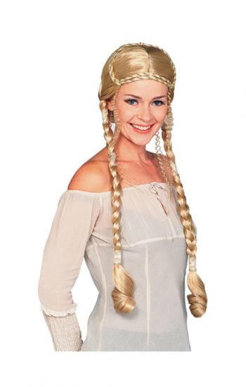 Renaissance Perücke Deluxe blond