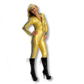 Racer Girl Costume Gold L