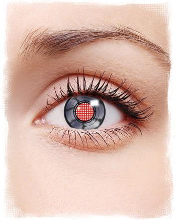 Robot Eye Contact Lenses