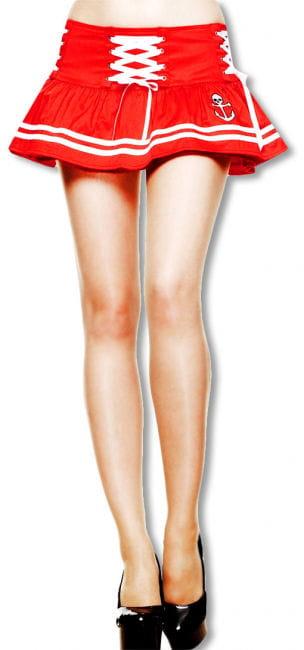 Sailor mini skirt