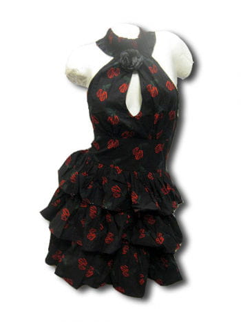 Rockabilly Tattoo Kleid Gr M
