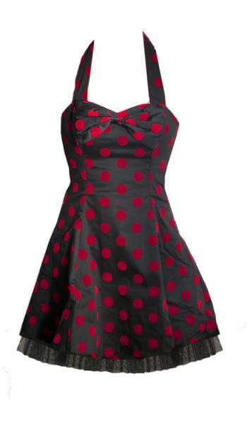 Polka Dot Petticoat black-red