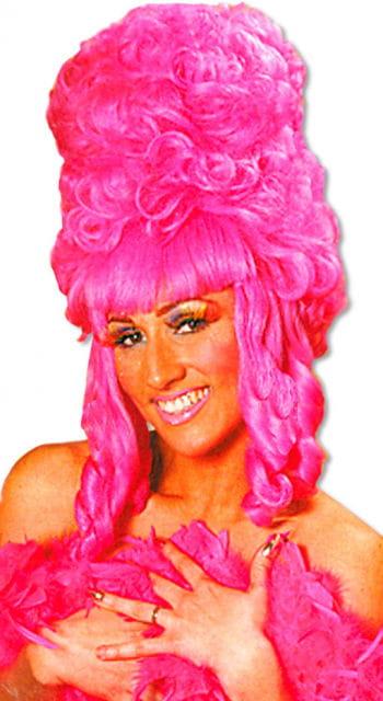 Rokoko Perücke Pink