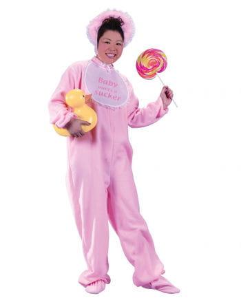 Riesenbaby Kostüm Pink