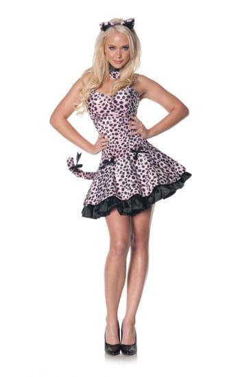 Rosa Leoparden Kleid