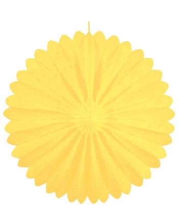 Rosettenfächer gelb 60 cm