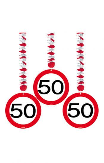 Rotorspiral Traffic Sign 50