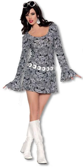 San Francisco Hippie Mini Kleid Large