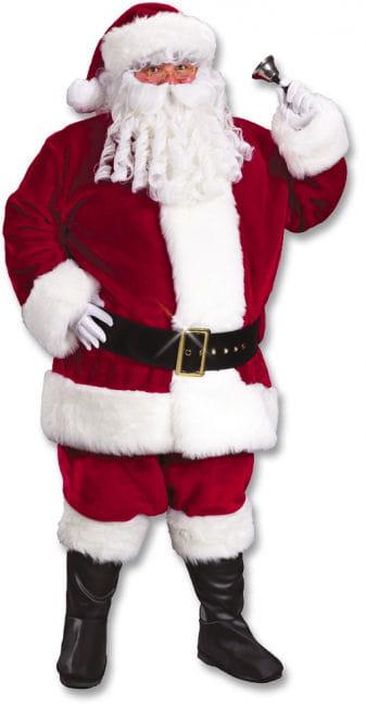 Santa Claus Deluxe Kostüm XL weinrot