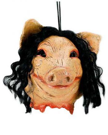 SAW Pig Head Hanging Decoration