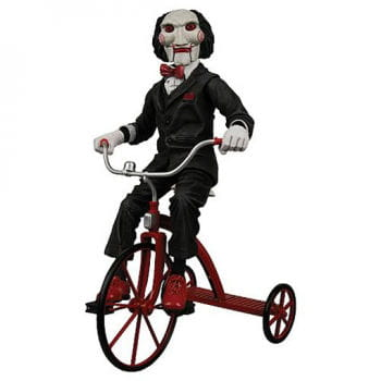 SAW Puppet Billy with Tricycle