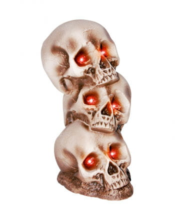 Skull Tower with LED eyes