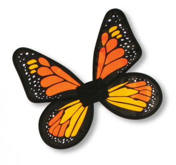 Satin Butterfly Wings Orange