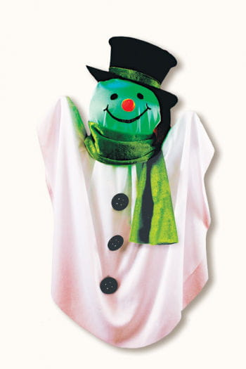 Hanging Snowman Decoration with Light