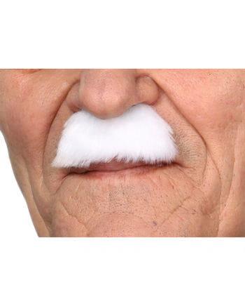 Mustache Charlie White