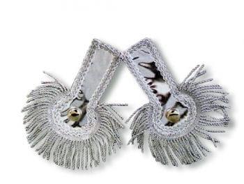 Epaulettes Silver