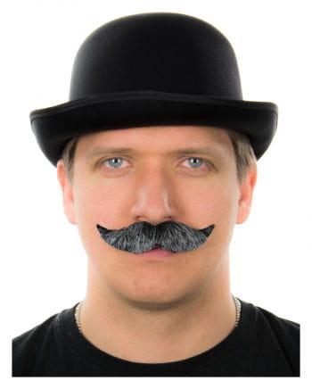Mustache Black-Grey Heather