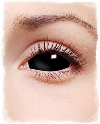 Sclera Contact Lenses Black