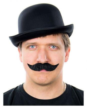 Mustache Striking Black