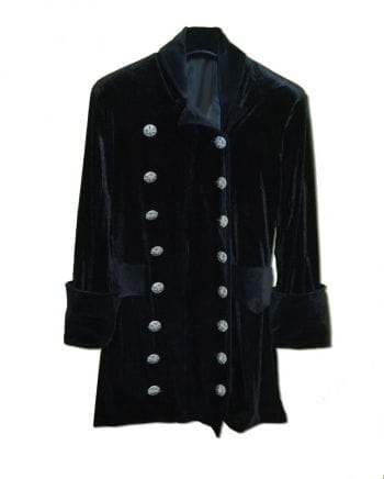 3/4 velvet coat black Size S