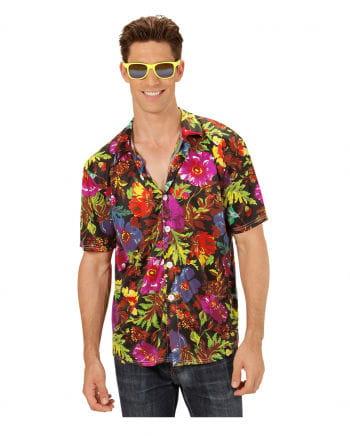 Hawaii Hemd Schwarz