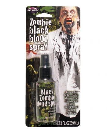 Dark Zombie Blood Spray