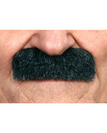 Adhesive Mustache mottled black-gray