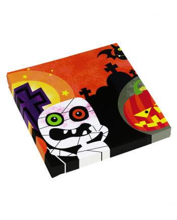 Servietten Halloween Monster 20 Stück