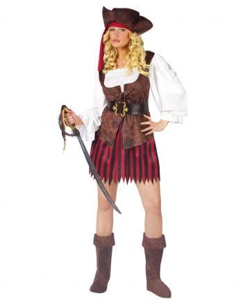 Sexy Piraten Lady Kostüm ML