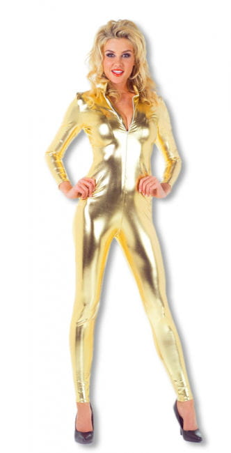 Sexy Catsuit Gold