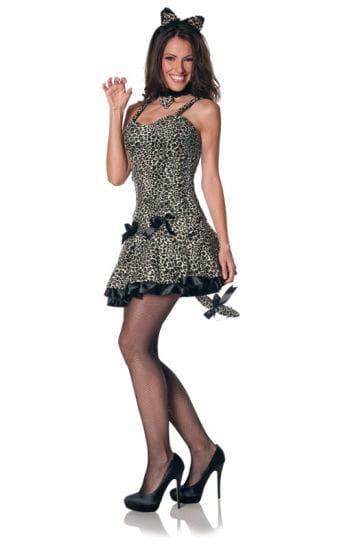 Sexy leopard dress